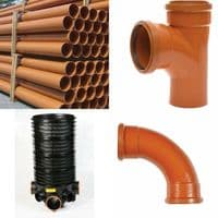 Underground Drainage  Pipe & Fittings Project Pack